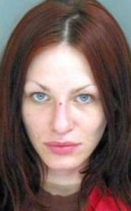 Booking photo of Alix Tichelman - captured when booked into the Santa Cruz County Jail